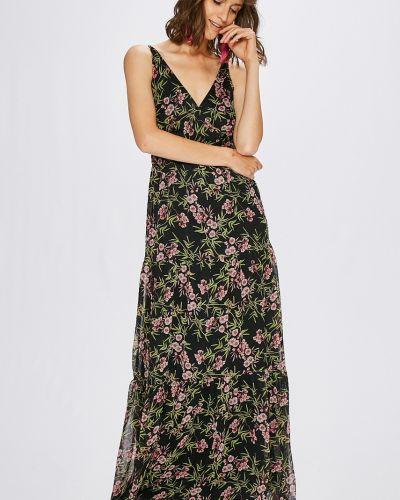 Платье макси с запахом на бретелях Vero Moda