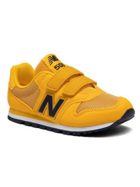 Sneakersy, żółty New Balance