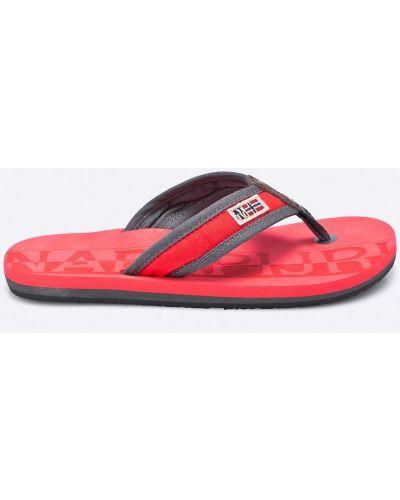 Красные сандалии Napapijri