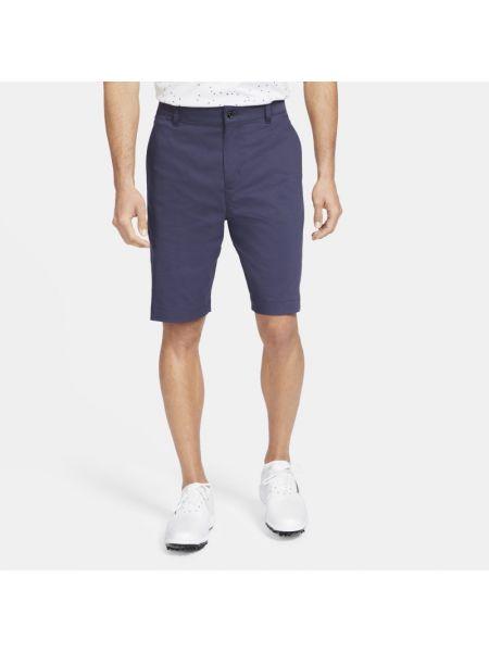 Niebieskie szorty chinosy na co dzień Nike
