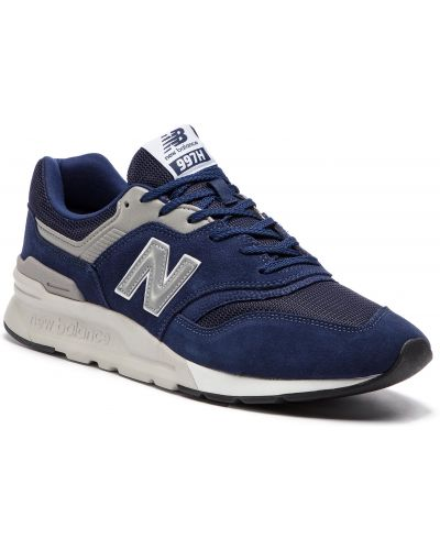 Skórzany sneakersy zamsz New Balance