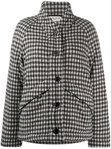 Pikowana płaszcz długi wełniany Ymc
