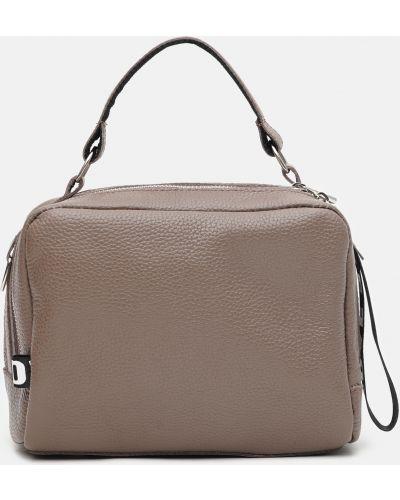 Кожаная сумка - коричневая Palmera