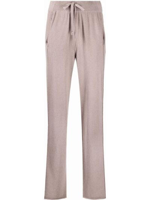 Серые брюки из спандекса Kristensen Du Nord