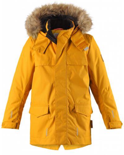 Зимняя куртка желтый Reima