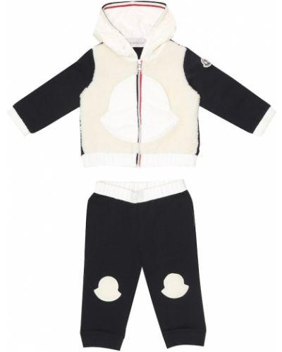Bawełna bawełna dres Moncler Enfant