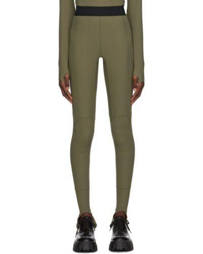 Czarne legginsy z nylonu Ambush