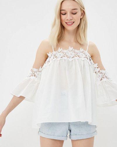 Блузка кружевная белая Moni&co