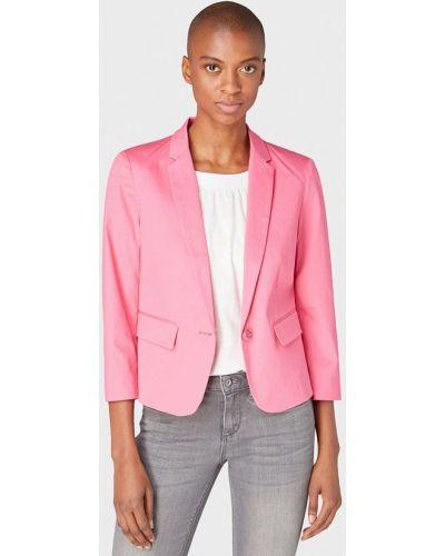 Пиджак розовый весенний Tom Tailor