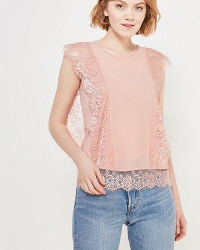 Розовая блузка кружевная Love Republic