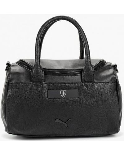 Кожаный сумка спортивные черный Puma