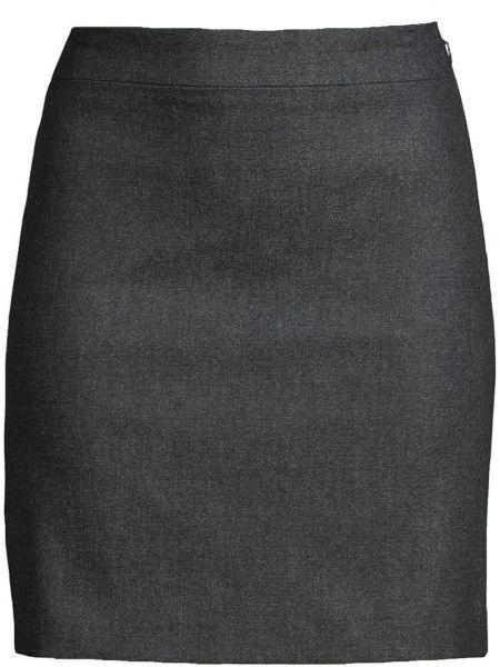 Niebieska spódnica mini bawełniana Nicole Miller
