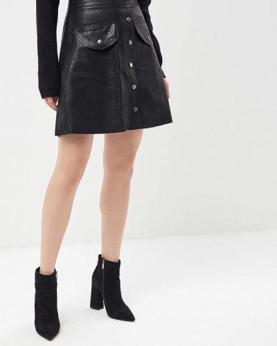 Юбка черная Brigitte Bardot