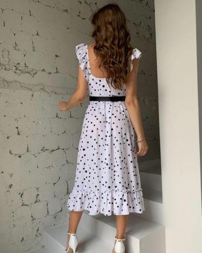 Белое платье летнее G&m