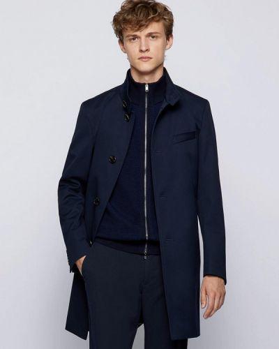 Синее турецкое пальто Boss