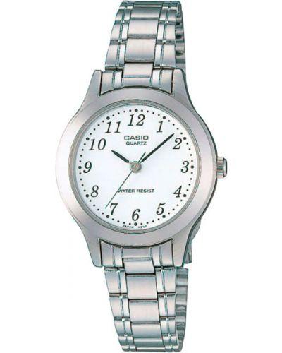 Часы металлические - белые Casio