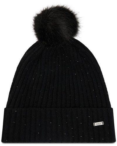 Czarny czapka baseballowa Barts