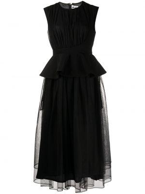 Платье из фатина - черное Comme Des Garçons Noir Kei Ninomiya