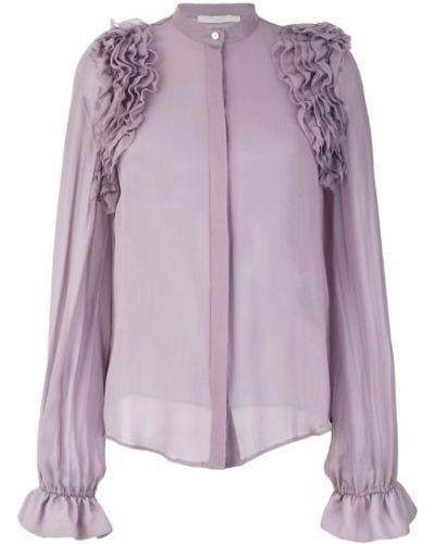 Блузка прозрачная шелковая Amen.