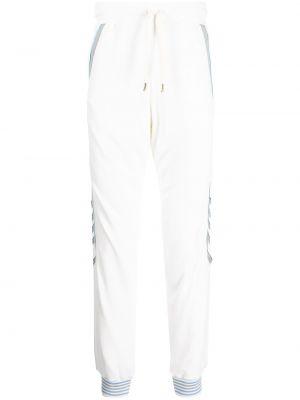 Хлопковые спортивные брюки - белые Casablanca