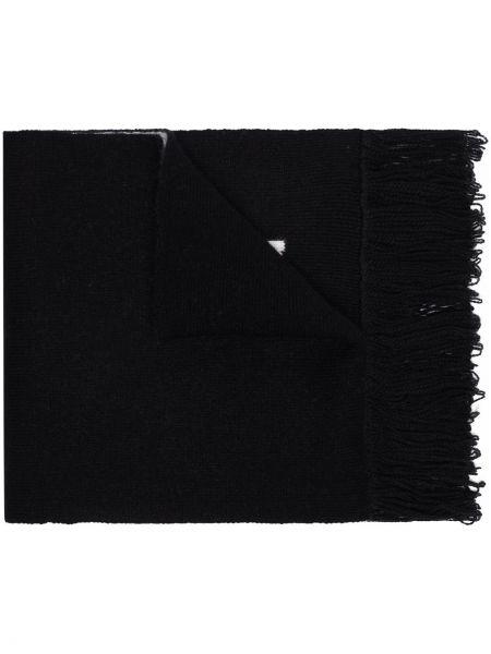 Czarny szalik wełniany More Joy