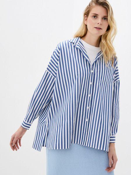 Рубашка с длинным рукавом синяя Naumi