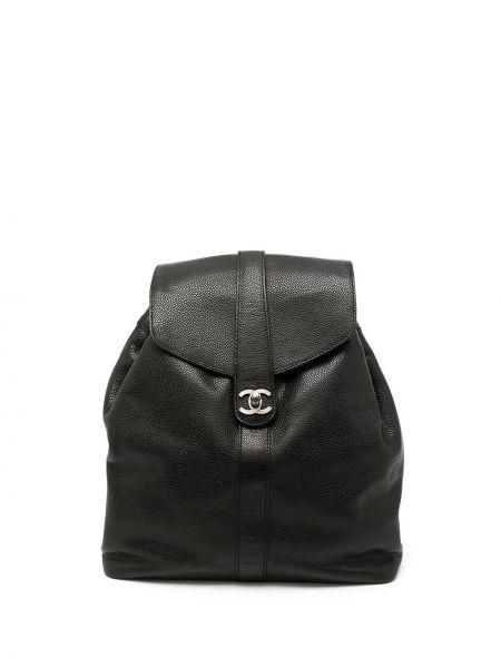 Черный рюкзак с карманами Chanel Pre-owned