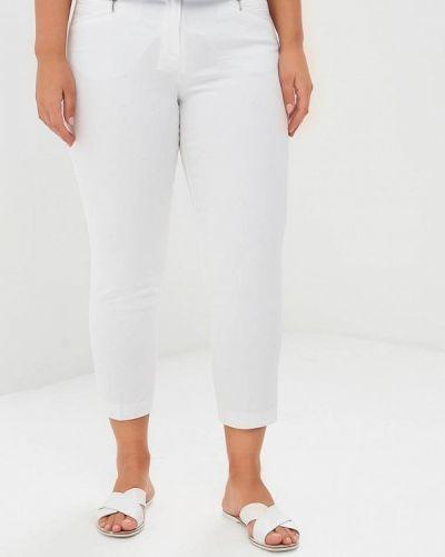 Белые брюки зауженные Wallis