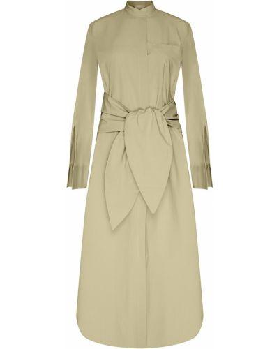 Платье миди на пуговицах платье-рубашка Erika Cavallini