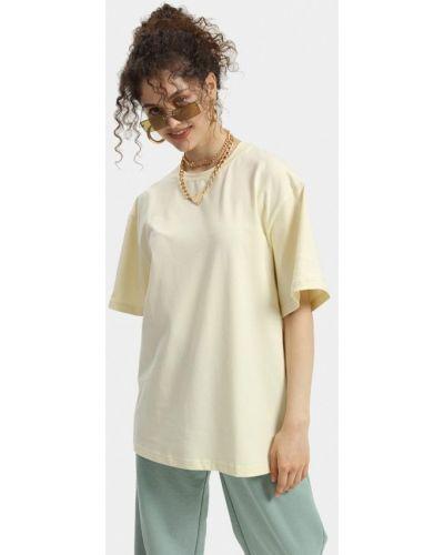 Желтая футболка с короткими рукавами Lezzarine