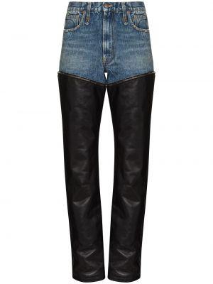 Джинсовые прямые джинсы - синие R13