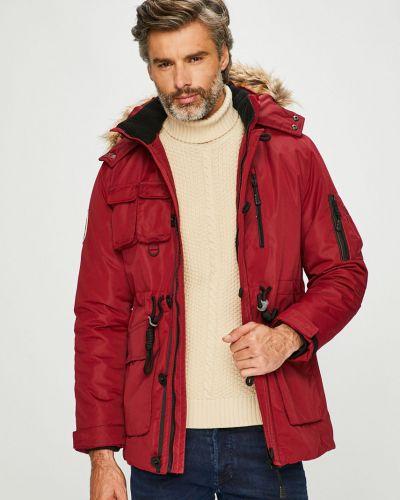 Куртка с капюшоном - красная Tokyo Laundry