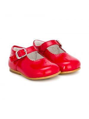 Туфли красные лаковые Andanines Shoes
