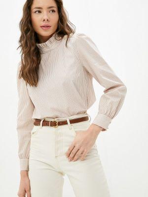 Блузка с длинными рукавами - коричневая Rich&royal