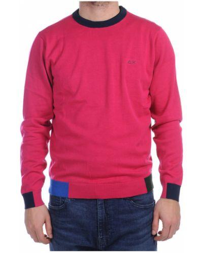 Różowy sweter Sun68