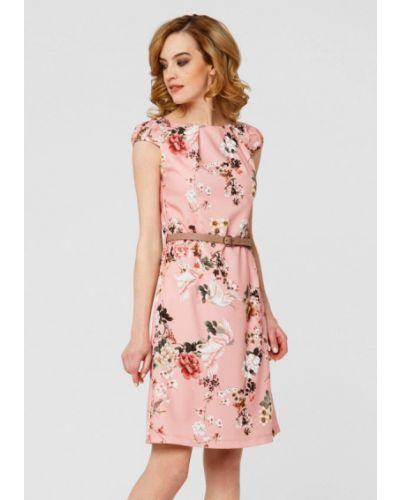 Розовое платье мини Remix