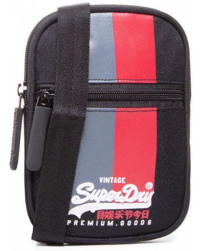 Plecak sportowy - czarny Superdry