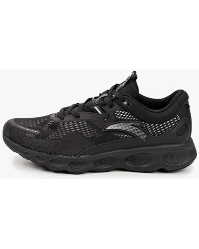 Текстильные черные кроссовки Anta