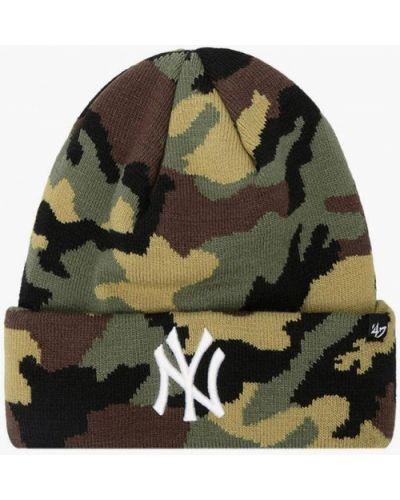 Зеленая шапка 47 Brand