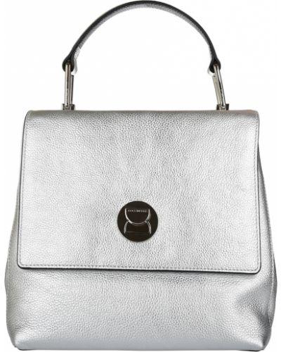Рюкзак серебряный Coccinelle