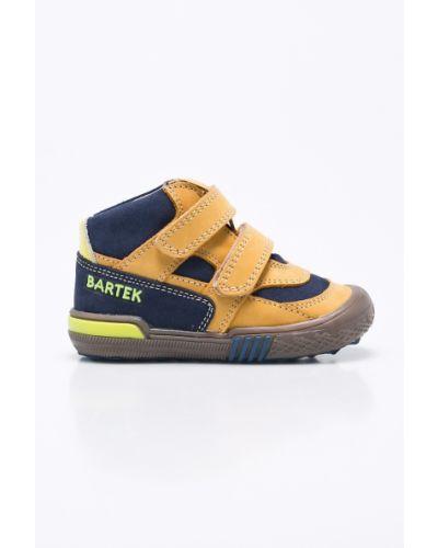 Желтые туфли кожаные Bartek