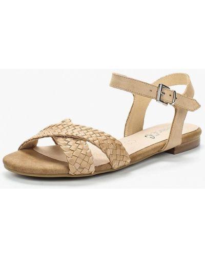 Бежевые сандалии Caprice
