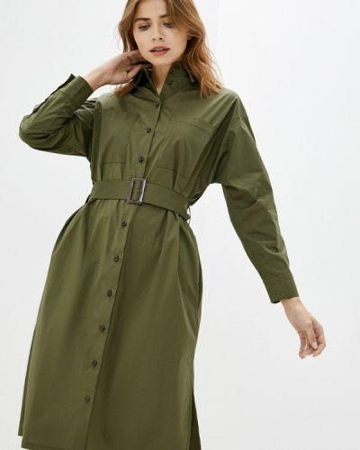 Базовое зеленое платье Base Forms