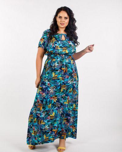 Летнее платье макси из штапеля Jetti-plus