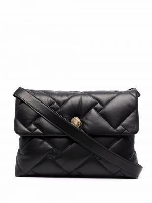Кожаная сумка - черная Kurt Geiger London