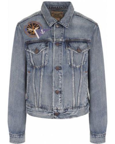 Синяя джинсовая куртка Polo Ralph Lauren