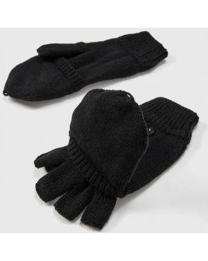 Черные перчатки Ostin