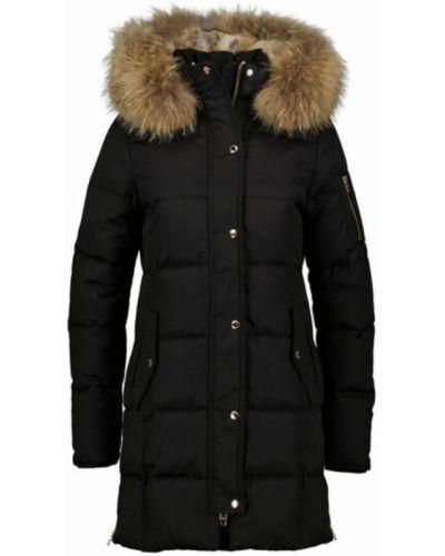 Czarny płaszcz Rockandblue
