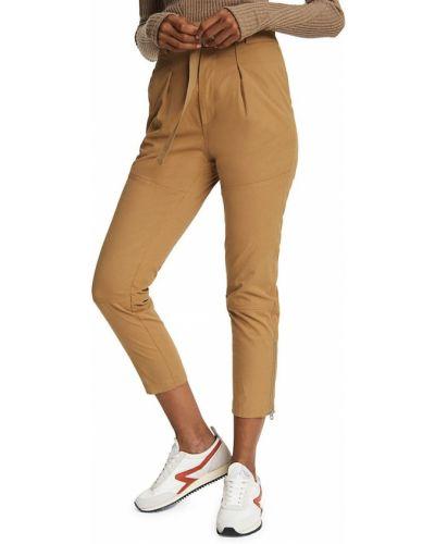 Żółte spodnie bawełniane Rag & Bone