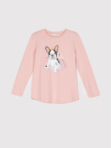 Bluzka - różowa Coccodrillo
